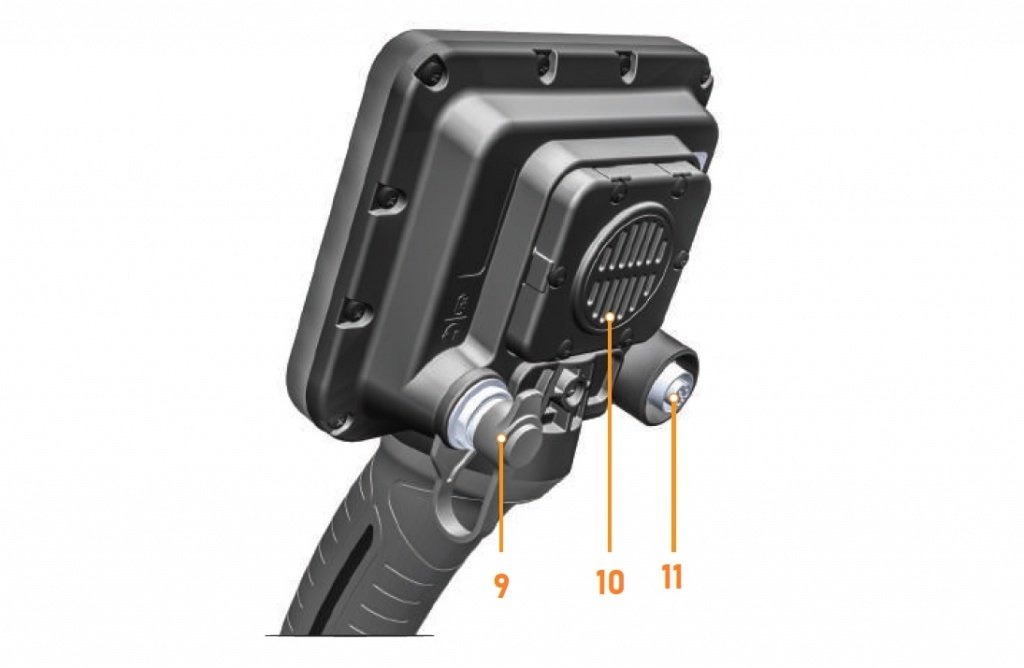 anfibio nokta makro управление металлоискателем